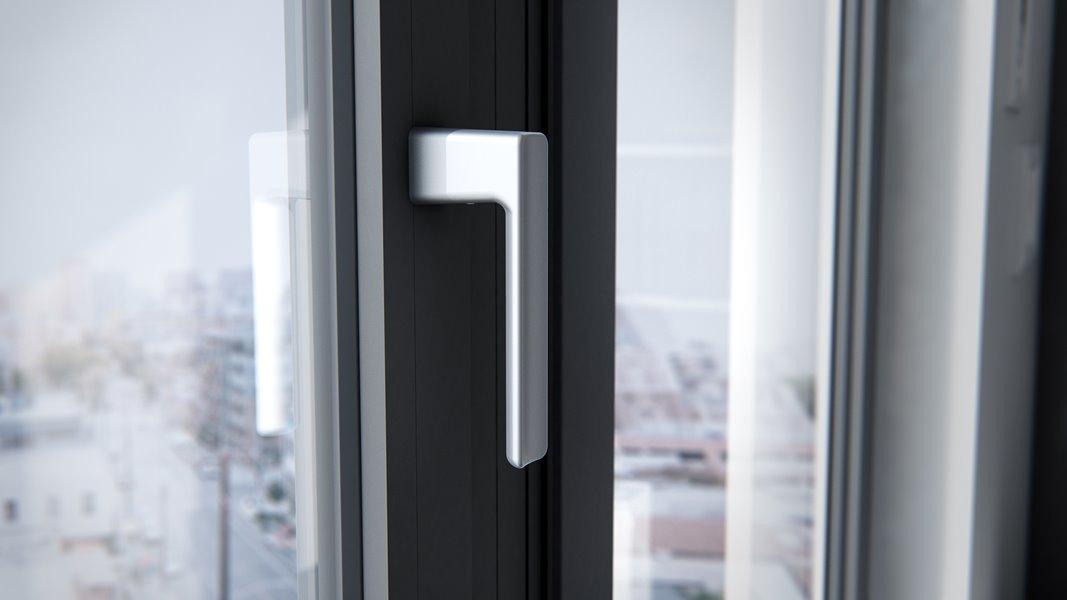 Handvat om raam te openen of sluiten