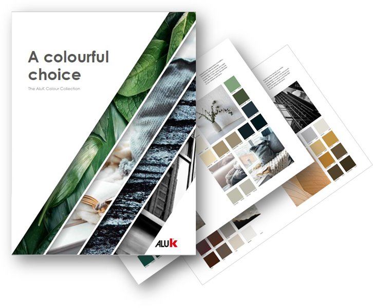The AluK colour collection