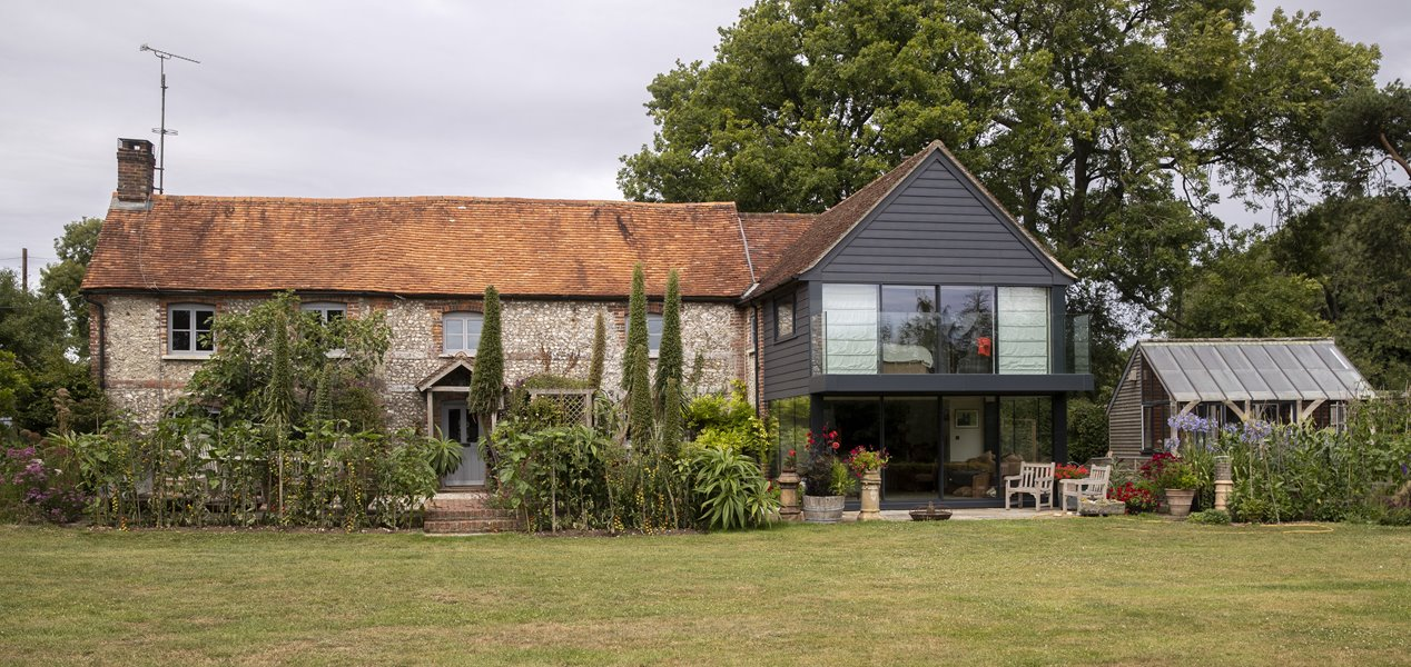 Andover cottage with extension